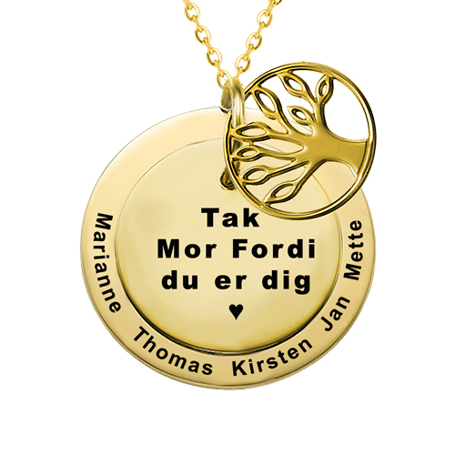 Smykker med gravering, smykker med indgravering, Gave til mor, mors dag gave, personlig gave til mor, gaveideer til mor, smykker med gravering, halskæde med gravering