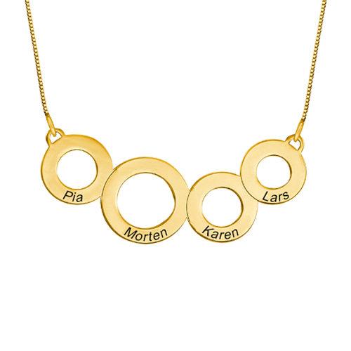 smykker til kvinder, gave til hende, halskæde med navn
